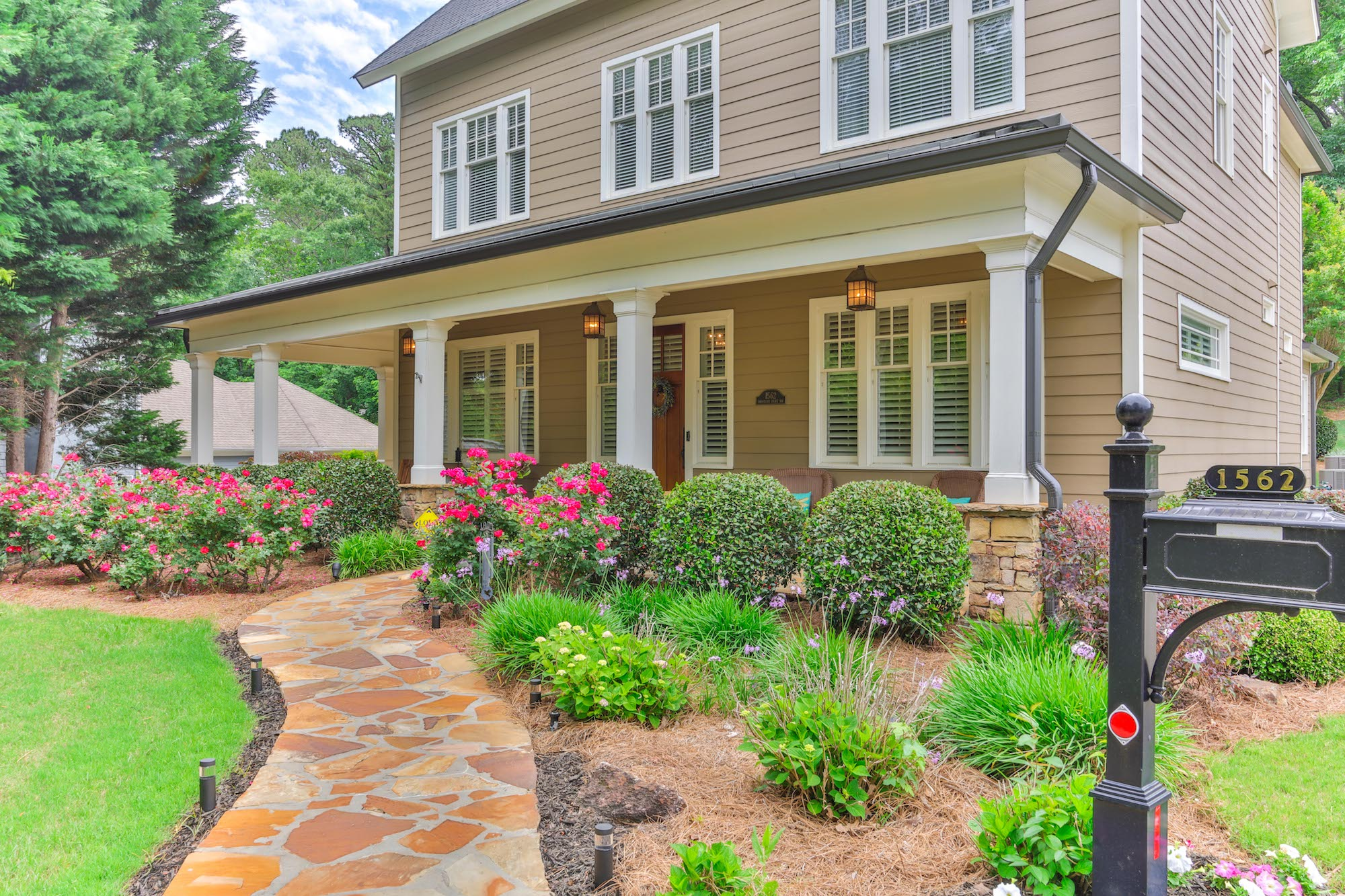 Beautiful real estate home atlanta